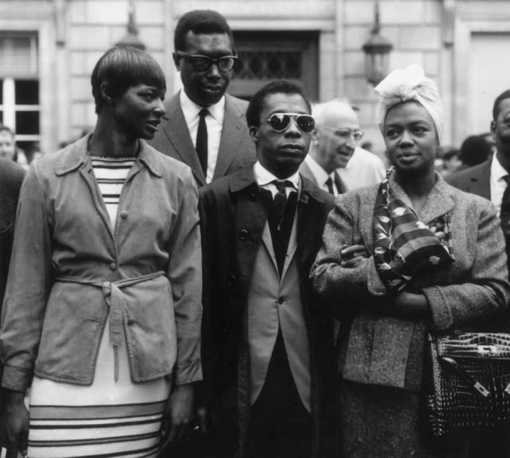 "May Mercier, Memphis Slim, James Baldwin and Hazel Scott, ""Protest march on Washington"