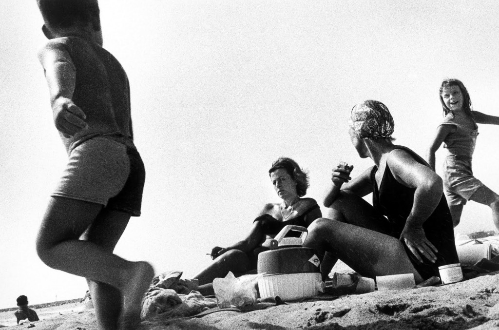 Ralph Gibson  Family at the Beach