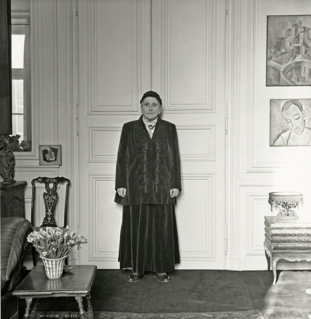 Gertrude-Stein-Wearing-Balmain-P.-Horst